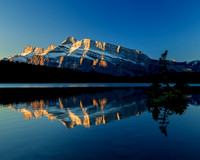 Two Jack Lake and Mt. Rundle